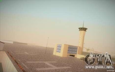 New San Fierro Airport v1.0 para GTA San Andreas segunda pantalla