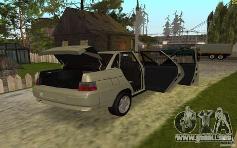 VAZ-21103 para vista lateral GTA San Andreas