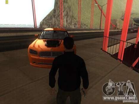 Dodge Charger From NFS CARBON para la visión correcta GTA San Andreas