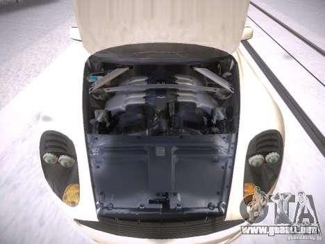 Aston Martn DB9 2008 para visión interna GTA San Andreas