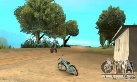 Dirt Jump Bike para la visión correcta GTA San Andreas