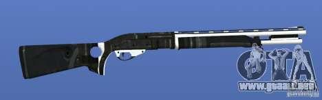 Shotgun para GTA 4 adelante de pantalla