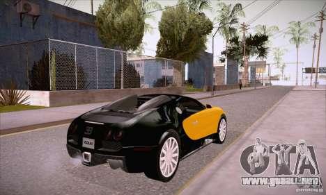 Bugatti Veyron 16.4 EB 2006 para la visión correcta GTA San Andreas