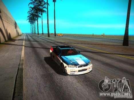 ENBSeries By Avi VlaD1k para GTA San Andreas quinta pantalla