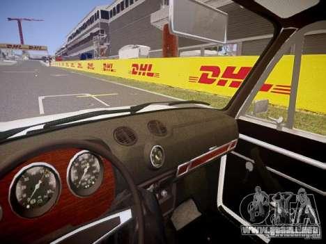 2106 VAZ v1.0 para GTA 4 vista interior