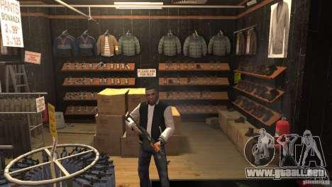 New Russian Shop para GTA 4 adelante de pantalla