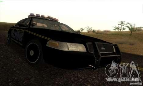Ford Crown Victoria Alaska Police para GTA San Andreas