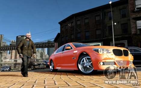 Pantallas de menú y arranque HAMANN BMW en GTA 4 para GTA San Andreas séptima pantalla