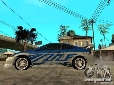 Acura RSX Shark Speed para GTA San Andreas left