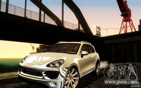 Porsche Cayenne 958 2010 V1.0 para vista inferior GTA San Andreas