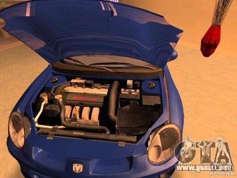 Dodge Neon SRT4 2006 para la visión correcta GTA San Andreas