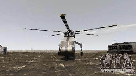 SkyLift Helicopter para GTA 4 visión correcta