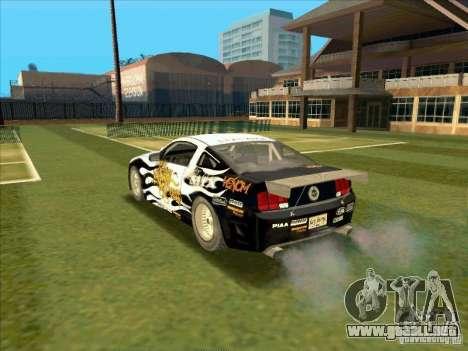 Ford Mustang Drag King from NFS Pro Street para GTA San Andreas left