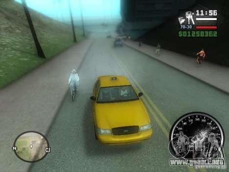 Lluvia helada para GTA San Andreas