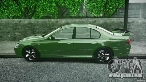 Ford Falcon XR8 2007 Rim 1 para GTA 4 vista interior