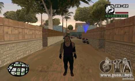 El empresario de pompas fúnebres de Smackdown 2 para GTA San Andreas tercera pantalla