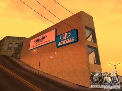 Auto VAZ para GTA San Andreas segunda pantalla
