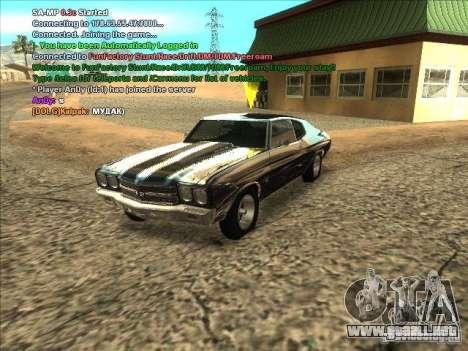 Serie ENB para tarjeta video débil para GTA San Andreas sexta pantalla