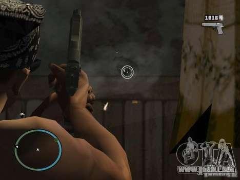 Cámara de GTA IV 1.0 para GTA San Andreas tercera pantalla