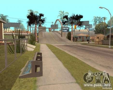 Remapping Ghetto v.1.0 para GTA San Andreas quinta pantalla
