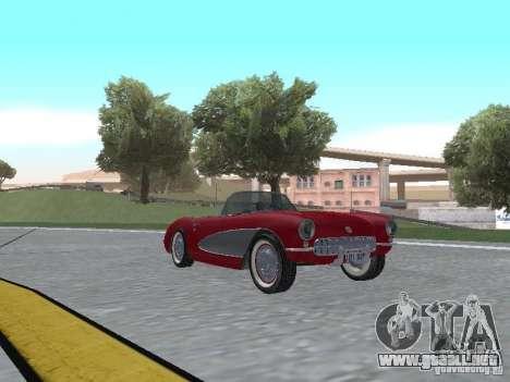 Chevrolet Corvette C1 para GTA San Andreas left