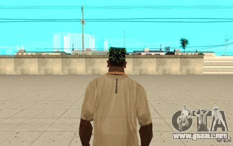Bandana xbox para GTA San Andreas tercera pantalla