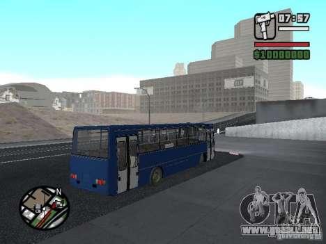 Ikarus 260.51 para la visión correcta GTA San Andreas