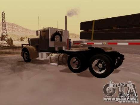 Peterbilt 351 para la visión correcta GTA San Andreas