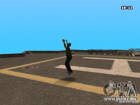 Parkour Mod para GTA San Andreas segunda pantalla