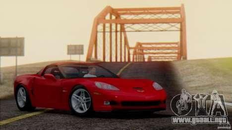 SA Beautiful Realistic Graphics 1.7 BETA para GTA San Andreas sucesivamente de pantalla