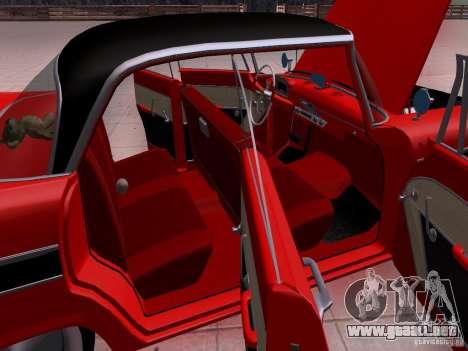 Plymouth Belvedere Sport Sedan 1957 para la vista superior GTA San Andreas