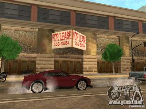 Nuevo centro comercial de texturas para GTA San Andreas sexta pantalla