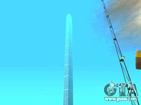Rascacielos en Los Santos para GTA San Andreas sucesivamente de pantalla
