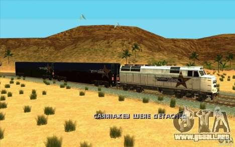Desenganche de vagones para GTA San Andreas