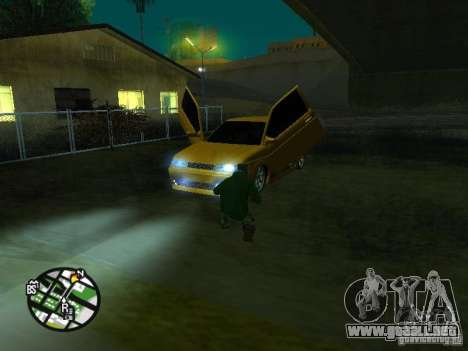 Vaz-2112 coche Tuning para la vista superior GTA San Andreas