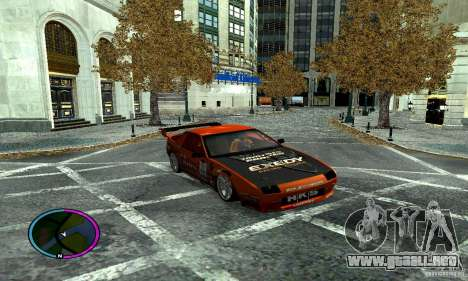 Mazda RX-7 FC for Drag para vista lateral GTA San Andreas