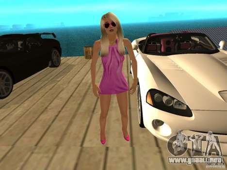 Mia Pinky para GTA San Andreas