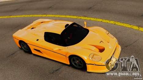 Ferrari F50 GT 1996 para GTA 4 visión correcta