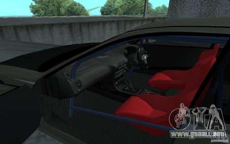 Honda Integra Type R para GTA San Andreas left