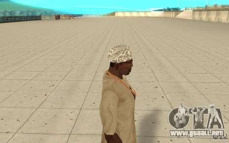 Bandana hellrider para GTA San Andreas segunda pantalla