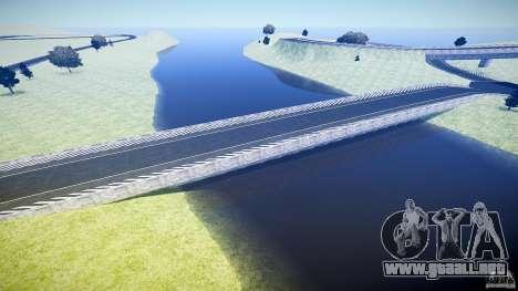 Top Gear Map para GTA 4 quinta pantalla