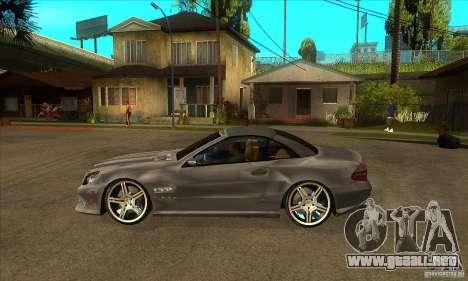 Mercedes-Benz SL65 AMG 2010 para GTA San Andreas left