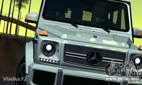 Mercedes-Benz G65 AMG 2013 para la visión correcta GTA San Andreas