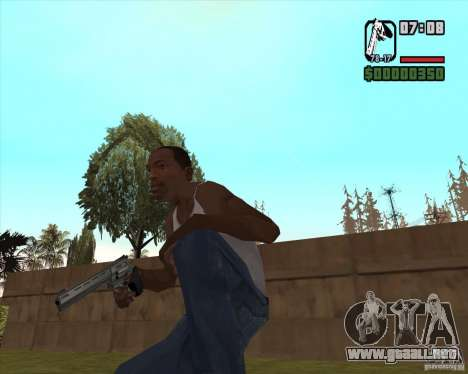Revólver para GTA San Andreas segunda pantalla
