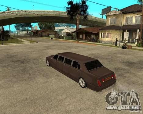 Rolls Royce Silver Seraph para GTA San Andreas left