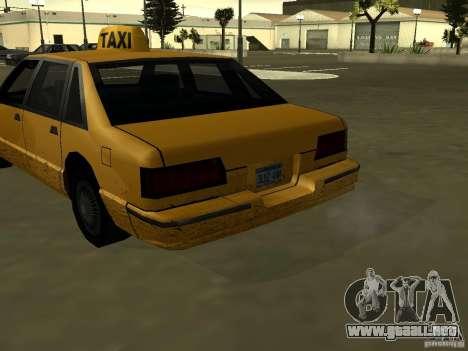 Textura realista de coche original para GTA San Andreas tercera pantalla
