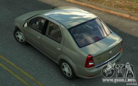 Dacia Logan 2008 para GTA 4 left