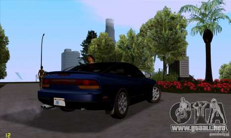 Nissan SX 240 Full Stock para GTA San Andreas left