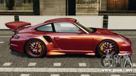 Porsche 997 GT2 Body Kit 1 para GTA 4 left
