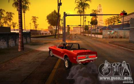 ENBSeries v1.0 por GAZelist para GTA San Andreas octavo de pantalla